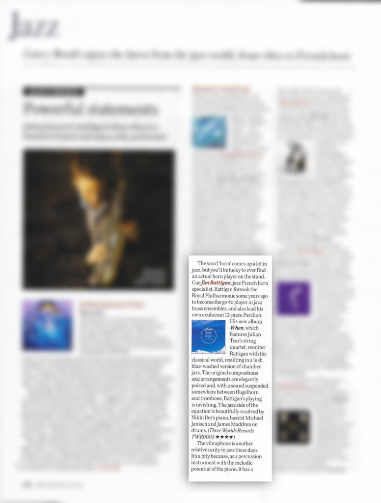 BBC Music Magazine January 2021 review When